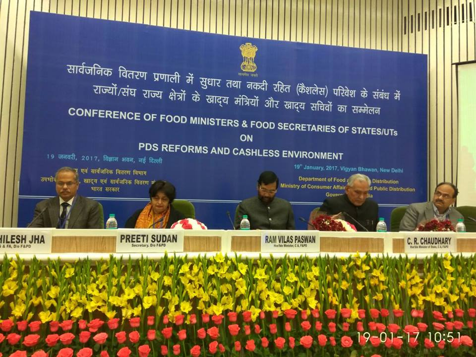 CEO as one of the panel speakers along with Food Secretaries from states...